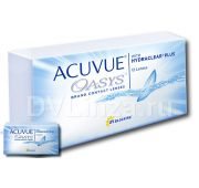 ACUVUE OASYS with HYDRACLEAR Plus (12шт)