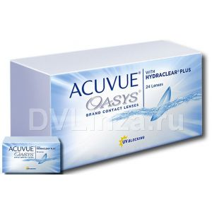 ACUVUE OASYS with HYDRACLEAR Plus (24шт)